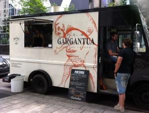 P.A. & Gargantua food truck