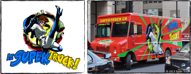 Super Truck - Heroine Chef and Truck